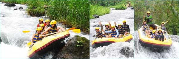 Bali Rafting Tour - Bali White Water Rafting