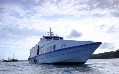 Fast Boat to Penida